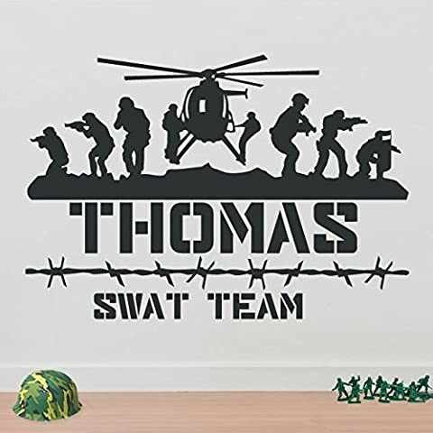 Army Men Military Soldiers Helicopter Personalised Wall Decorations Window Stickers Wall Decor Wall Stickers Wall Art Wall Decals Stickers Wall Decal Decals Mural Décor Diy Deco Removable Wall Decals Colorful Stickers
