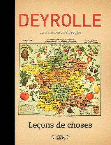 Leçons de choses - tome 1 par Deyrolle