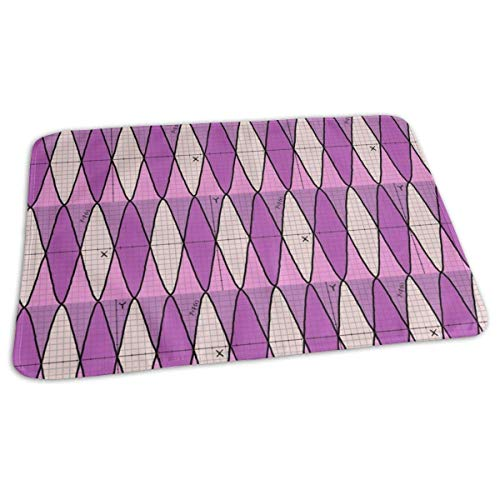 Bikofhd Function of X - Geek Chic - in Pink Purple Baby Portable Reusable Changing Pad Mat 19.7X 27.5 inch