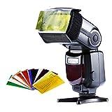 Neewer 6-en-1 flash Speedlite accessoires Kit Softbox pour appareil photo reflex numérique