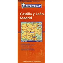 Carte RGIONAL Castilla y Leon, Madrid