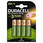 Pilas recargables Duracell AA