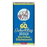 Schokolade GEBURTSTAG STEINBECK Vollmilch 100g Schokolade Tafel