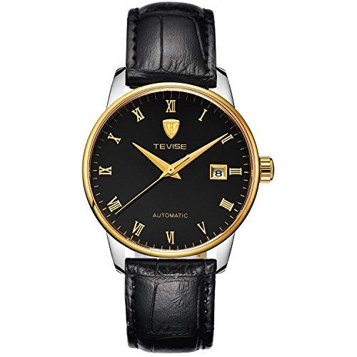 BIAOSHOU® Uhr Automatische Mechanische Uhren Steel Uhren Herren Wasserdichte Hohlen Kalender , 1