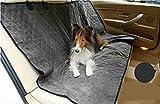 Hundeschutzdecke Auto Wasserdicht Hunde Autoschutzdecke Doppelseitige Verwendung,Black