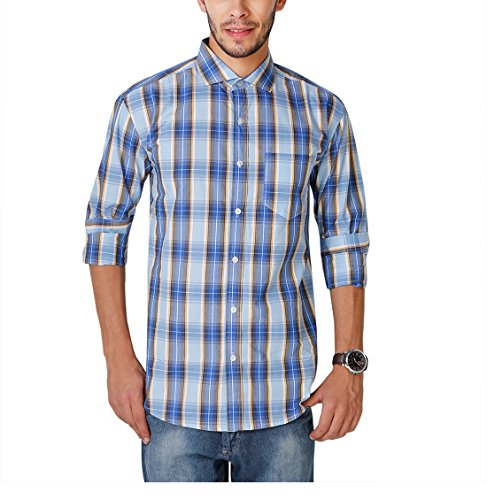 6. Yepme Wilmar Premium Formal Shirt - Blue & Yellow_YPMSHRT0793_44