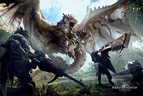 Close Up Poster Monster Hunter World (91,5cm x 61cm)