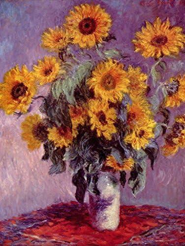 Lais Puzzle Claude Monet - Nature Morte aux tournesols tournesols tournesols 100 Pieces | L'apparence élégante  754244