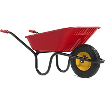 Yellow 90L Vibrante Go Wheelbarrow Haemmerlin *Free p/&p*
