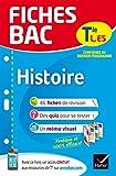 Fiches bac Histoire Tle L, ES: fiches de révision Terminale L, ES