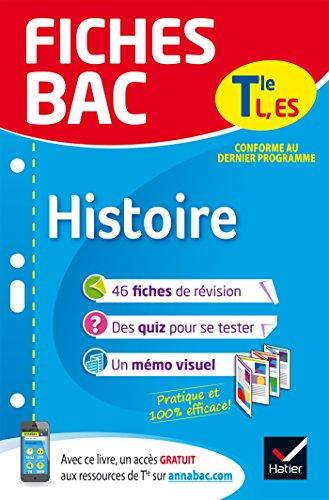 Fiches bac Histoire Tle L, ES: fiches de révision Terminale L, ES par Élisabeth Brisson