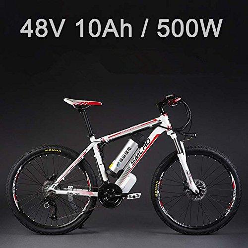 SMLRO La Bicicleta eléctrica de la batería de Litio de 26