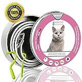 sevicat Collare Antipulci Gatti - Collare Antiparassitario per Gatto Contro la Antipulci (35 cm)