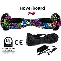 BC Babycoches - Patinete eléctrico hoverboard monopatin autoequilibrio TecnoBoards T6, Ruedas 6,5 pulgadas, versión Rio