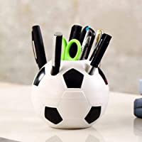 Craft Expertise Football Shape Creative Pen Stand Holder For Home And Office (Multicolor)