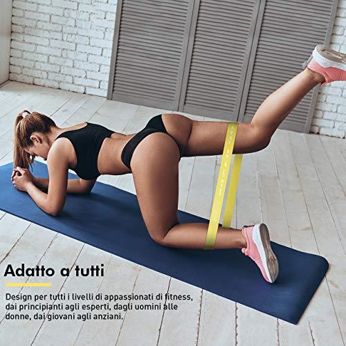 Zoom IMG-2 topelek elastici fitness banda elastica