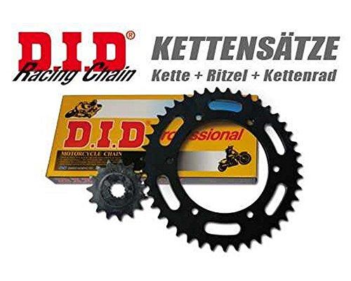 Preisvergleich Produktbild Kettensatz / Kettenkit D.I.D. PRO-STREET X-Ring Kawasaki KLE 500,  A6,  ab 96