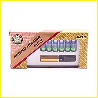 Friend Holder Mini Gold - Filter-System für Raucher Normal Zigarette + 6 Filter
