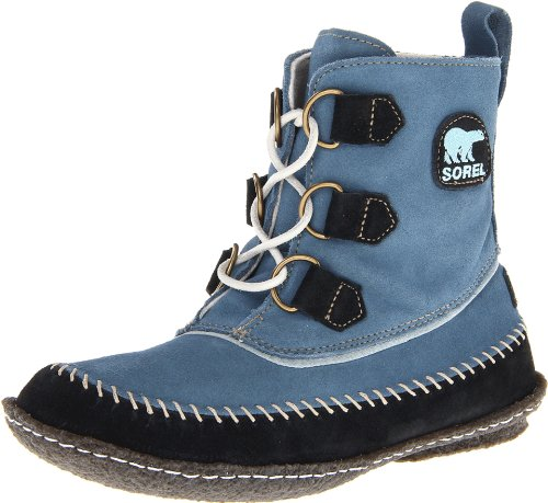 Sorel Winterschuhe Boots Damen Leder NL1940-943 Blau