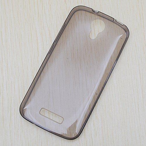 Easbuy TPU Transparent Silikon Tasche Case Etui Cover Hülle für Doogee X3