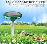 Pestech Solar Powred Snake Repellent for Outdoor Use to Repele Snake & Reptiles-1