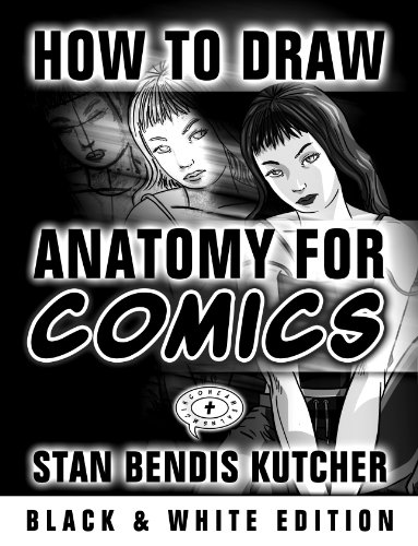 """How to Draw Anatomy for Comics (B&W Saver): (132 Pages): From the Author of """"How to Draw Amazing Manga"""" (How to Draw Comics & Manga Book 4) (English Edition)"""