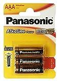 Panasonic 2380 - Paquete de baterías alcalinas AAA (1,5 V)