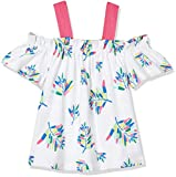 #7: United Colors of Benetton Girl's Floral Regular Fit T-Shirt