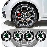 EdwardSmithCars 4 X 55Mm Diamètre Centre De Roue Cap Autocollant Emblème Auto-Adhésif Pour Surfaces Planes Cher Prix