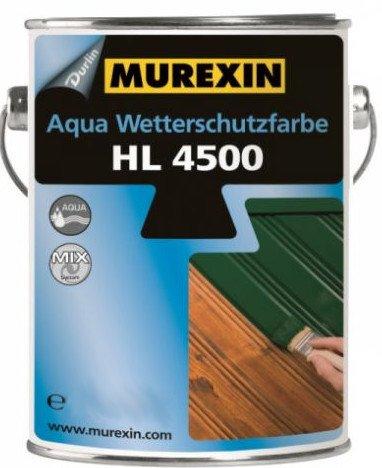 Murexin Aqua Wetterschutzfarbe, lichtgrau, 0,75 Liter, hochdeckender Anstrich