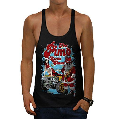 Heiß Weihnachten Herren S Gym Muskelshirt | Wellcoda (Heißes Halloween-kostüm Ideen)