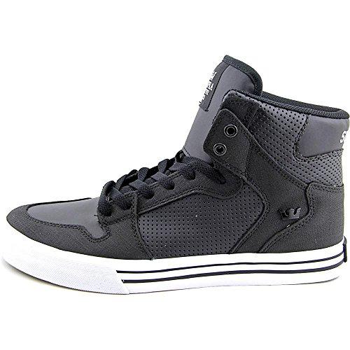 Supra Vaider S28058, Sneaker uomo Nero/Bianco