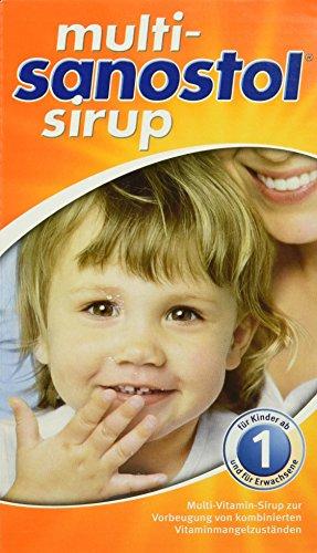 Sanostol Multi Sirup ab 1 Jahr, 300 gr, 1er Pack (1 x 300 ml) (Sirup Unterstützung)