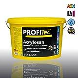 ProfiTec P407 Acylosan Silikonharz-Reinacrylat-Fassadenfarbe weiss 12,5L