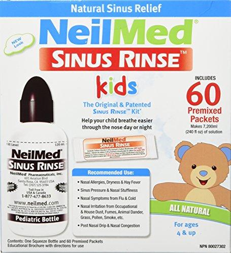 NeilMed SinusRinse Pädiatrisch Kit für Stirnhöhle & Allergie Erleichterung - Neilmed Sinus Rinse Kit