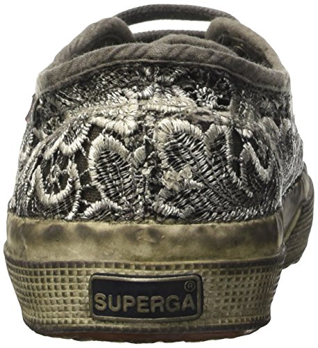 Superga 2750-Macramedyedw, Scarpe da Ginnastica Donna Nero