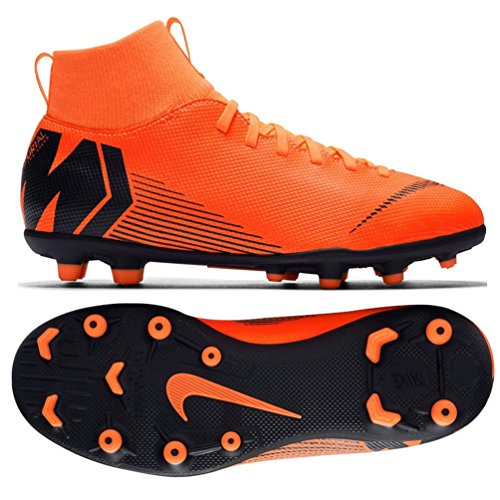 best service b1f84 d46e5 Nike Jr Superfly 6 Club MG, Scarpe da Fitness Unisex-Bambini, (Total