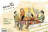 arheko Stadt Land Fluss neu aufgelegt -30 Seiten Block -26 Kategorien, DIN A4 Format - Quiz-Spiel, Ideale Geschenkidee Partyspiel für Spieleabend
