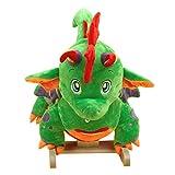 Rockabye Poof the Lil' Dragon Rocker Cutest Baby Dragon Rocker Green
