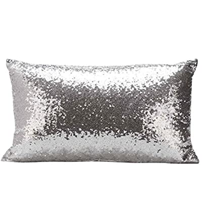 Rectangle scatter Cushion Glitter Pillowcases In 7 Colours