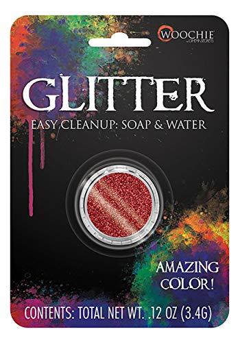 Red Glitter Makeup Standard ()