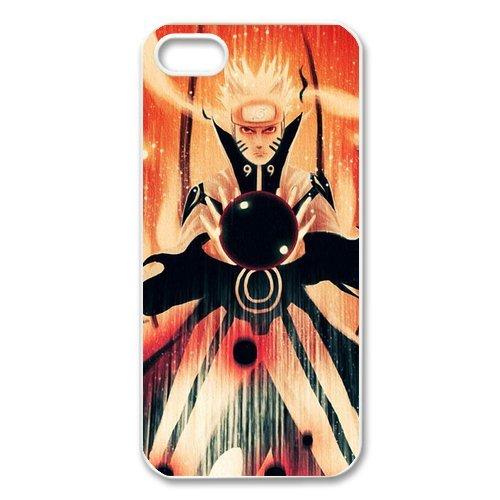 Naruto rigide en silicone TPU pour Apple iPhone 5S, iPhone 5S Case Cover pour Apple iPhone 5/5S, iPhone 5Case, beau Coque de protection design