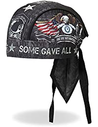 "Authentic Bikers Premium Headwraps, NEVER FORGOTTEN, ""All Gave Some, Some Gave All"" - High Quality HEADWRAP"