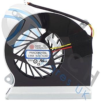 Ventilateur Processeur Original Pour MSI GE60 MS-16GA MS-16GC CPU-VGA E33-0800401-MC2