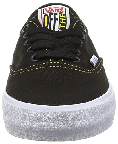 Vans Herren Authentic Sf Sneaker Schwarz (black/spruce Yellow)