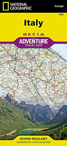 Italy Adventure Map: Travel Maps International Adventure Map
