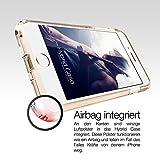 iPhone 7 Hülle – vau Hybrid Case Schutzhülle transparent – stabile Rückseite und flexibler Rahmen mit Airbagfunktion - 3