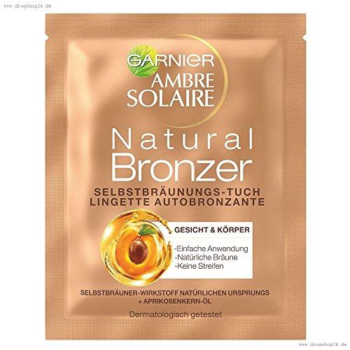 Selbstbräuner Tücher (Garnier Ambre Solaire Selbstbräunungs-Tuch Gesicht, Dekollete)