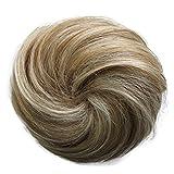 PRETTYSHOP 100% pelo real cabello humano Moño, Postizo, Trenza, Moño de estilo Hepburn, Coletero,...
