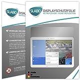 2 x Slabo Displayschutzfolie Samsung Galaxy Tab Pro T520 / T525 (10.1 Zoll) Displayschutz Schutzfolie